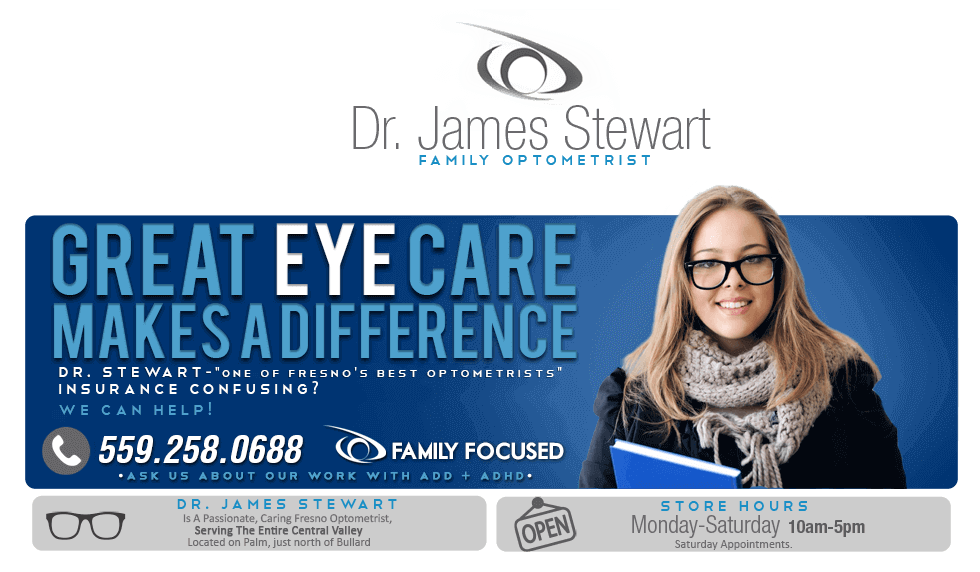 Dr. James Stewart, Family Optometrist, Fresno, CA